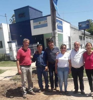 Llegó el gas natural al Centro de Integración Comunitario