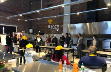 """Cierre programa """"Energía del Sabor"""" en la Escuela de Cocina del Banco de Alimentos"""