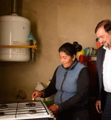 El vicegobernador de Salta inauguró obras de infraestructura en la Puna