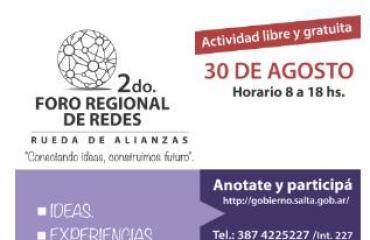 GASNOR participará en el 2do Foro Regional de Redes en la Ciudad de Salta.