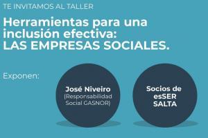 Se dictará un taller sobre Empresa Sociales