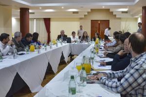 Se concretó un nuevo encuentro con empresarios y funcionarios relacionados con la educación y el trabajo.